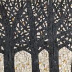 Albino Rossi, Piccoli mosaici 2013-14, mosaico su pannello, 30x40 cm