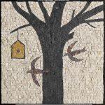 Albino Rossi, Piccolo mosaico 2013-2014, mosaico su pannello 42x42 cm